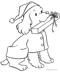 Puppy Dog Coloring Book Sheets