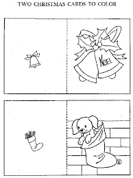Free Coloring Pages For Christmas Cards Ideas