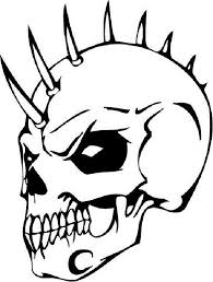 25 Skull Coloring Pages