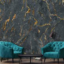 vlies fototapete marmor goldenerz gold schwarz wohnzimmer