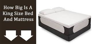 How Big Is a King Size Bed and Mattress BestMattressesReviews