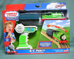 Thomas And Friends Tidmouth Sheds Trackmaster by Image Trackmasterrcpercyalternatebox Jpg Thomas And Friends