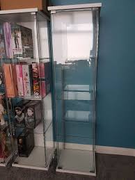 Detolf Glass Door Cabinet Ikea by Ikea Detolf Glass Display Cabinet In Middlesbrough North