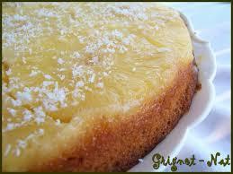 dessert ananas noix de coco gâteau renversé à l ananas et à la noix de coco grignot nat