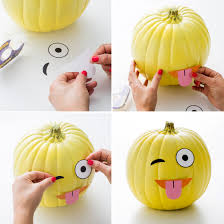 Minion Pumpkin Template Paint by Make Diy Emoji Pumpkins With Our Free Printables Free Printable