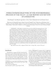 si e orthop ique unrecognized fracture of the pdf available