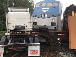 Amtrak Train Hits Tractor-trailer In Stafford   Stafford ... Train Hits Ctortrailer Carrying Hydrochloric Acid In Washington Amtrak Train Collides With Truck Bacon Near Wilmington Hits Semitruck Robards Tristatehomepage Glenwood Springs Fox31 Denver Carrying Members Of Congress Headed To Gop Retreat Truck One Killed Another Injured When Car Staunton Driver Leaps Safety As Crashes Into Inside Edition Loaded Watermelons Sumter County Wftv Slams At Crossing Nbc News Minnesota Town 200 Evacuated After Tanker 40 Passengers Beth Schlanker On Twitter Smart Semitruck Santa