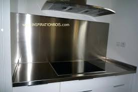 inox pour cuisine imgcuisjpg with crdence cuisine inox