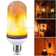 effect led light bulb flickering light 2835smd led
