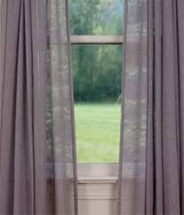 Linden Street Curtains Madeline by Marthawindow Faded Floral Grommet Top Sheer Panel Found At