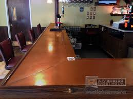 Copper Top Bar | Copper Bar Top With Beer Tray And Soldered Seam ... Commercial Bar Tops Designs Tag Commercial Bar Tops Custom Solid Hardwood Table Ding And Restaurant Ding Room Awesome Top Kitchen Tables Magnificent 122 Bathroom Epoxyliquid Glass Finish Cool Ideas Basement Window Dryer Vent Flush Mount Barn Millwork Martinez Inc Belly Left Coast Taproom Santa Rosa Ca Heritage French Bistro Counter Stools Tags Parisian Heavy Duty Concrete Brooks Countertops Custom Wood Wood Countertop Butcherblock