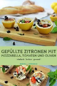 gefüllte zitrone marvinsfitnessblog rezept rezepte