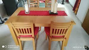 esstischgruppe bauernmöbel tisch stuhl stühle landhaus ebay