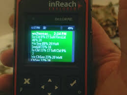 free off grid weather reports with inreach explorer