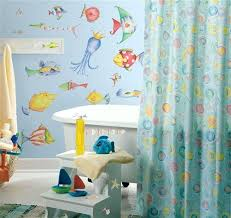 Decals For Bathrooms by Bold Fish Wall Decor For Bathroom Sea Creatures Wall Decals Large