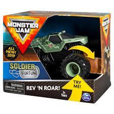 100 Monster Truck Crash Spin Master Jam Jam Official Soldier Fortune Rev