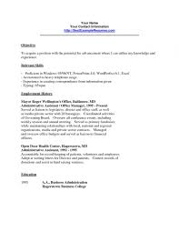 Clerical Resume Examples Resumes Within