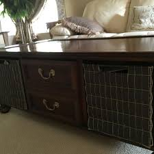 Lane furniture Ed Bauer series coffee table and end table $200 00 Tons of storage