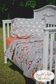 Modern Crib Bedding Sets by Baby Woodland Animals Bedding Tags Woodland Themed Nursery