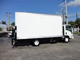 2016 Used Isuzu NPR HD 16FT DRY BOX TRUCK . TUCK UNDER LIFTGATE ...