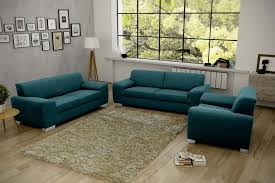 florenz sofa garnitur mit sessel petrol günstig möbel küchen büromöbel kaufen froschkönig24