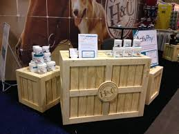 Rustic Trade Show Country Store Display Crates Cubes
