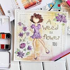 Repost Piekarczykmarta Julie Nutting Watercolor Paper Coloring Pre Release