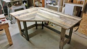 Pallet Wood Corner Desk — Got Wood Workshop