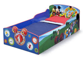 mickey mouse interactive wood toddler bed delta children s products