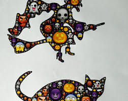 Devil Emoji Pumpkin Carving by Ready To Ship Emoji Halloween Party Decoration Ghost Emoji