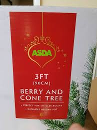 3ft Christmas Tree Asda by Christmas Tree 3ft With Cones In Gosport Hampshire Gumtree