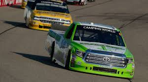 NASCAR - Brett Moffitt Scores NASCAR Truck Series Win In Iowa ...
