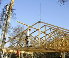 100 House Trusses Learn To Crane Or Hand Set Wood Without Troubles