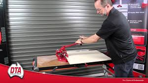 dta ishii tile cutter youtube