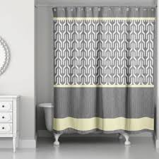Yellow And Grey Bathroom Window Curtains by Buy Yellow And Grey Shower Curtains From Bed Bath U0026 Beyond