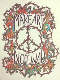 Make Art Not War Tumblr