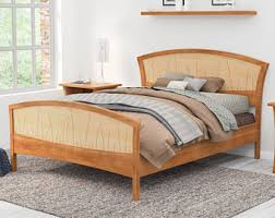 King Size Platform Bed With Headboard by Beds U0026 Headboards Etsy