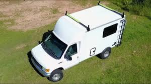 100 Box Truck Rv Tour My 17ft Ford E350 Campervan Progress So Far