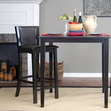 Walker Edison 3 Piece Contemporary Desk Manual by Walker Edison Furniture Company Wasatch 25 In Brown Bar Stool