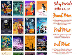 Cozy Mystery Halloween Giveaway