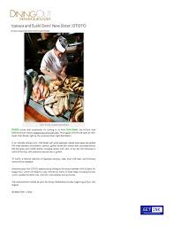 Toshis Living Room Menu by Ototo In The News Ototo