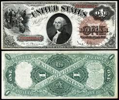 United States one dollar bill