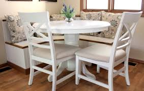 Bench Corner Booth Kitchen Table Awesome White Full Image For Terrific Banquette Seating 7 Canada