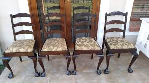Ball And Claw Dining Chairs