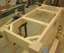 wood how can i make table legs from planks to support a heavy