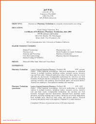 Sample Resume With Microsoft Office Experience Honor Roll Certificate Template Awesome Pharmacy Tech