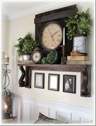 Love LOVE That Backsplash For The Clock And Shelf Dining Wall Decor IdeasDecorating