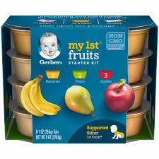 1st Foods Baby Food My 1st Fruits Starter Kit