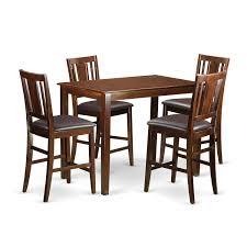 Surprising Rectangle Pub Table Set Bistro Marble Top Piece ...