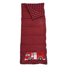 100 Fire Truck Sleeping Bag Amazoncom Lands End Kids Stripe Print With